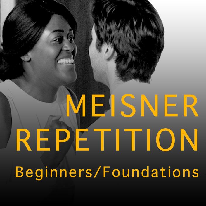 Meisner repetition Beginners Foundations