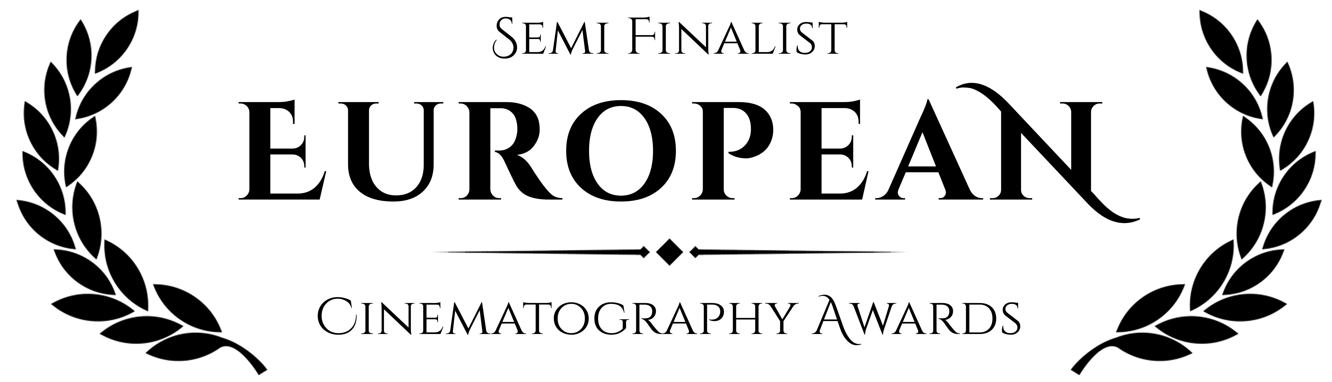The Breakup is Semi finalist in the European Cinematography Awards