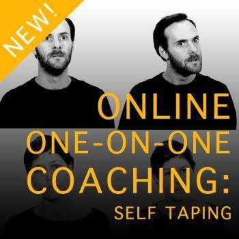 Online One-on-one self taping coaching - Actors Door Studio