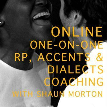 Online One on one received pronunciation, accents and dialects coaching